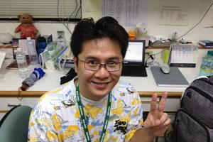 博士後研究 馮旭輝博士